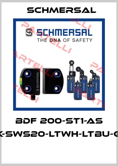 Schmersal-BDF 200-ST1-AS NHK-SWS20-LTWH-LTBU-G24  price