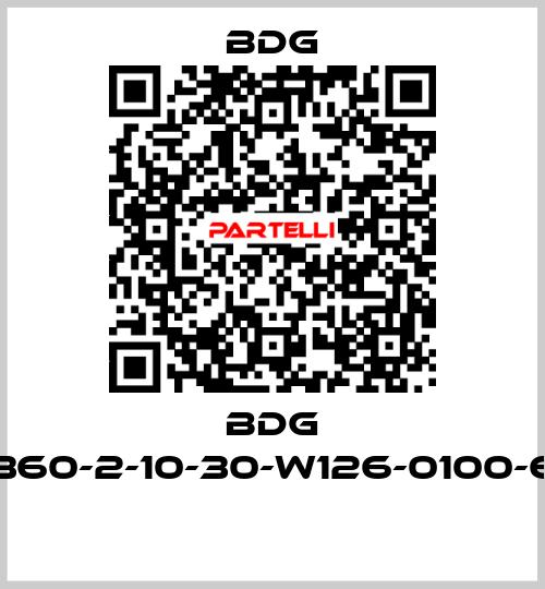 Bdg-BDG 6360-2-10-30-W126-0100-65  price