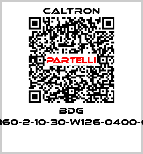 Caltron-BDG 6360-2-10-30-W126-0400-65  price