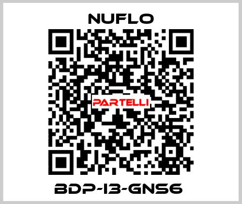 * NUFLO-BDP-I3-GNS6  price