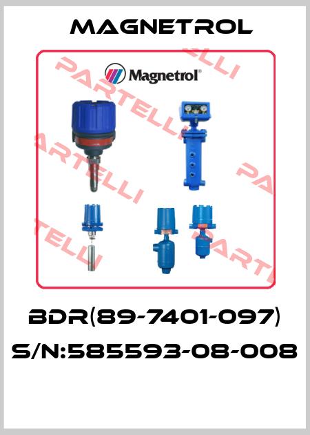 Magnetrol *-BDR(89-7401-097) S/N:585593-08-008  price