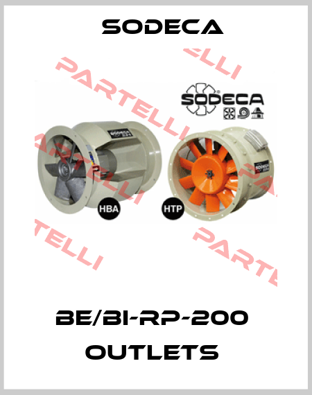 Sodeca-BE/BI-RP-200  OUTLETS  price