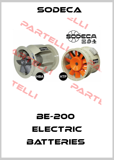 Sodeca-BE-200  ELECTRIC BATTERIES  price