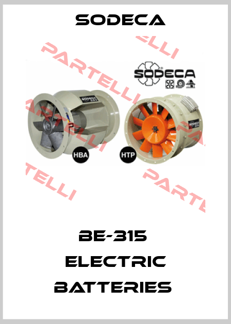 Sodeca-BE-315  ELECTRIC BATTERIES  price