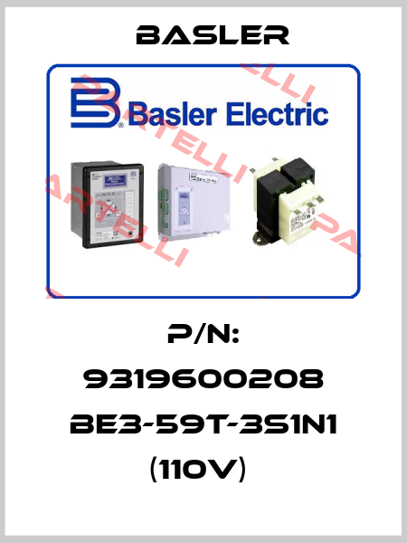 Basler-P/N: 9319600208 BE3-59T-3S1N1 (110V)  price