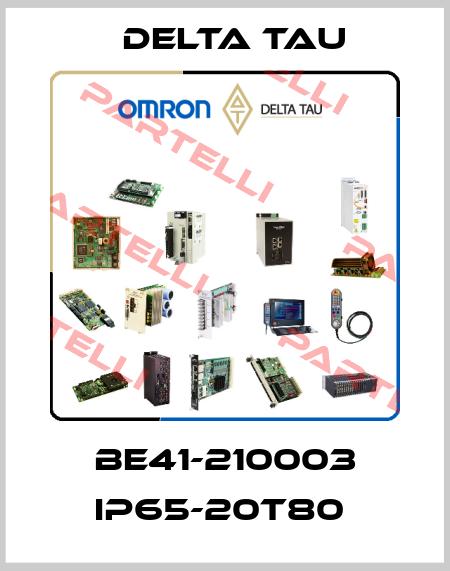 Delta Tau-BE41-210003 IP65-20T80  price