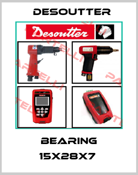Desoutter-BEARING 15X28X7  price