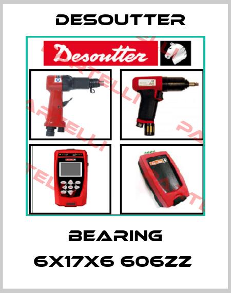Desoutter-BEARING 6X17X6 606ZZ  price
