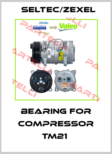 Seltec/Zexel-BEARING FOR COMPRESSOR TM21  price