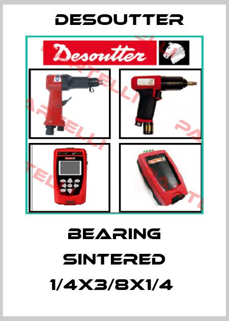 Desoutter-BEARING SINTERED 1/4X3/8X1/4  price